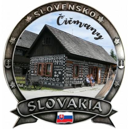 Magnetka Slovakia 07 Čičmany Dekokov