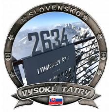 Magnetka Vysoké Tatry 01a Dekokov
