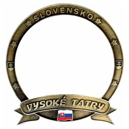 """Magnetka Vysoké Tatry """"Vlastný dizajn"""" Dekovov"""