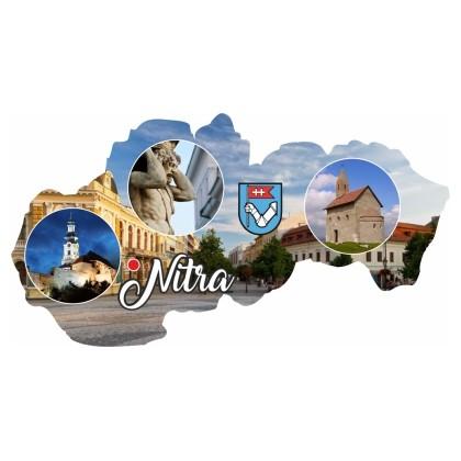 Magnetka mapa Nitra 03