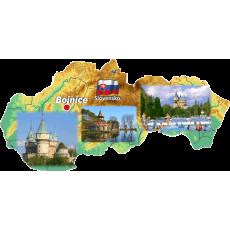 Magnetka mapa Bojnice 01