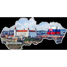 Magnetka mapa Bratislava 02