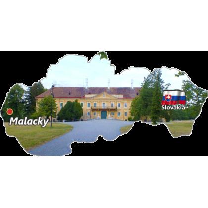 Magnetka mapa Malacky