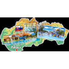 Magnetka mapa Patince