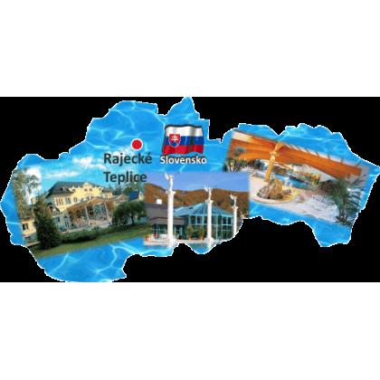 Magnetka mapa Rajecké Teplice 01