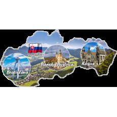 Magnetka mapa Slovensko 03