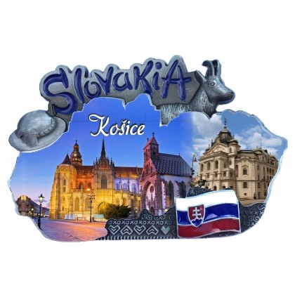 Magnetka mapa Košice 01