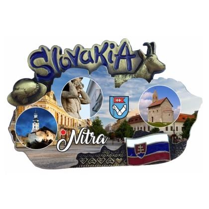 Magnetka mapa Nitra 02