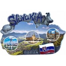 Magnetka mapa Slovensko 01