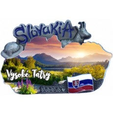 Magnetka mapa Vysoké Tatry 01
