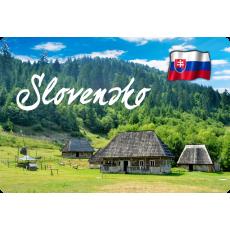 Magnetka kovová Slovensko 4