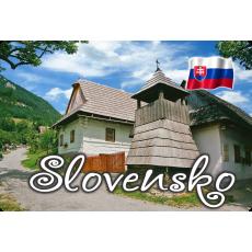 Magnetka kovová Slovensko 5