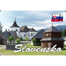 Magnetka kovová Slovensko 6
