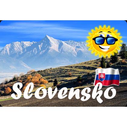 Magnetka kovová Slovensko 3