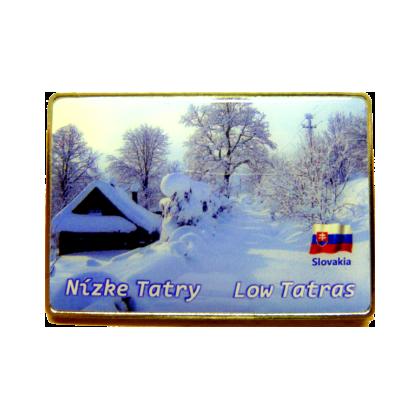 Magnetka kovová Nízke Tatry 3