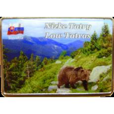 Magnetka kovová Nízke Tatry 4