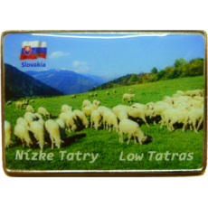 Magnetka kovová Nízke Tatry 5