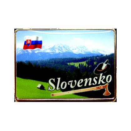 Magnetka kovová Slovensko 2