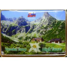 Magnetka kovová Vysoké Tatry 1