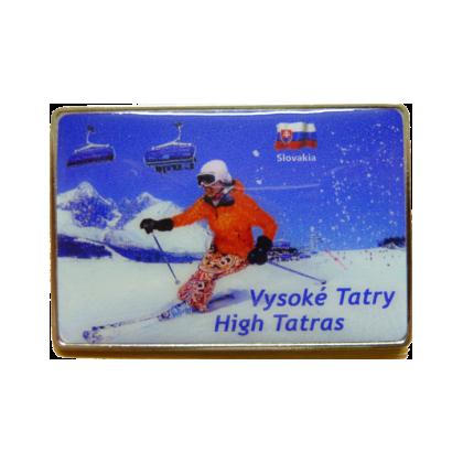 Magnetka kovová Vysoké Tatry 2