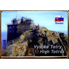 Magnetka kovová Vysoké Tatry 4