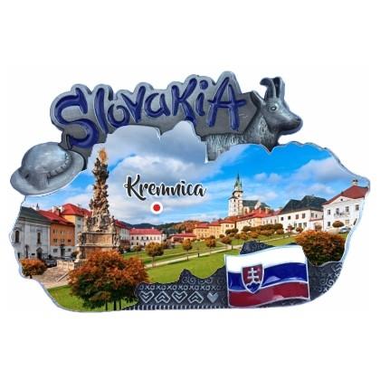 Magnetka mapa Kremnica 01