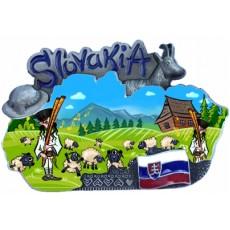 Magnetka mapa Slovensko 02
