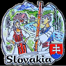 Magnetka kovová Slovakia 1