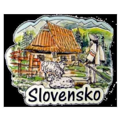 Magnetka kovová Slovensko 1