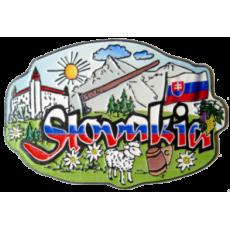Magnetka kovová Slovakia 2