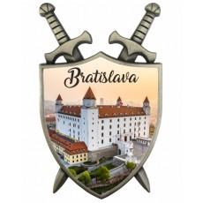 Magnetka Štít Bratislava 01