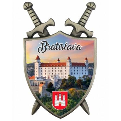 Magnetka Štít Bratislava 02