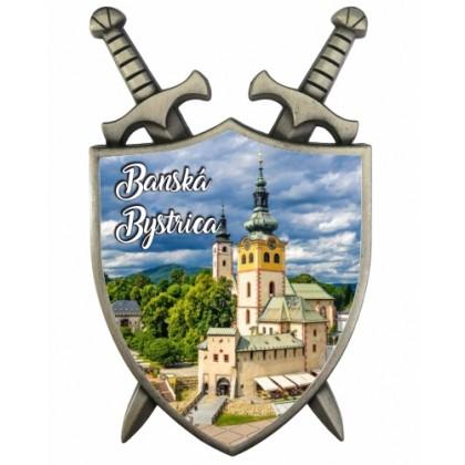 Magnetka Štít Banská Bystrica 01