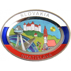 Suvenír Tanier ovál Bratislava 3
