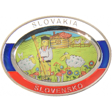 Suvenír Tanier ovál Slovensko