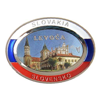 Suvenír Tanier ovál Levoča 1