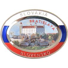 Suvenír Tanier ovál Bratislava 1