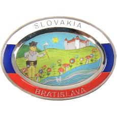 Suvenír Tanier ovál Bratislava 2