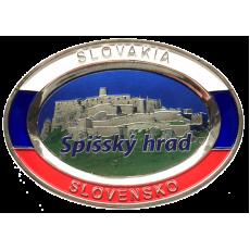 Suvenír Tanier ovál Spišský hrad