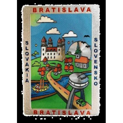 Magnetka flexi Bratislava kreslená
