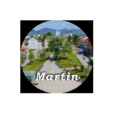 Magnetka kovová Martin