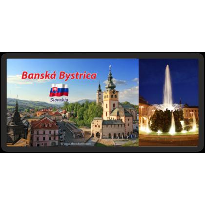 Magnetka kovová Banská Bystrica