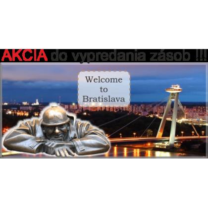 Magnetka kovová Bratislava 02
