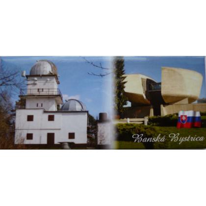 Magnetka kovová Banská Bystrica hvezdáreň