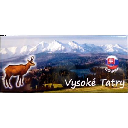 Magnetka kovová Vysoké Tatry Kamzík