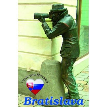 Magnetka kovová Bratislava Paparazzi