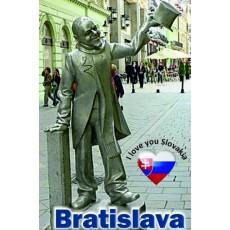 Magnetka kovová Bratislava Schöne Náci