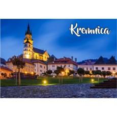 Magnetka kovová Kremnica 01