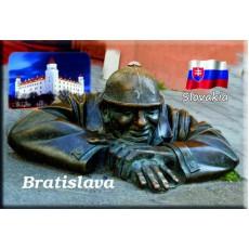 Magnetka kovová Bratislava Čumil