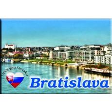 Magnetka kovová Bratislava Dunaj